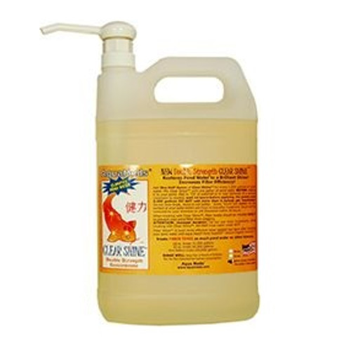 Aqua Meds Clear Shine Pond Clarifier Water Treatment 1 gal. CS128 78077