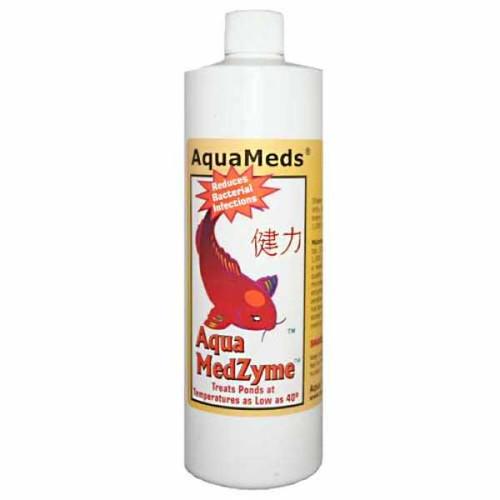 Aqua Meds Medzyme Liquid Pond Water Treatment 16 oz. MZL16 78043