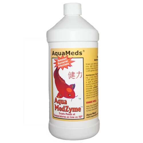 Aqua Meds Medzyme Liquid Pond Water Treatment 32 oz. MZL32 78044