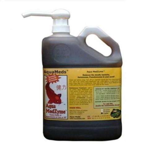 Aqua Meds Medzyme Liquid Pond Water Treatment 1 gal. MZL128 78045