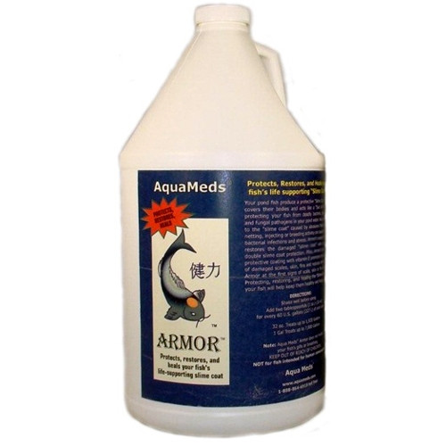 Aqua Meds Armor Slime Coat Fish Water Treatment 1 gal. ARM128 78060