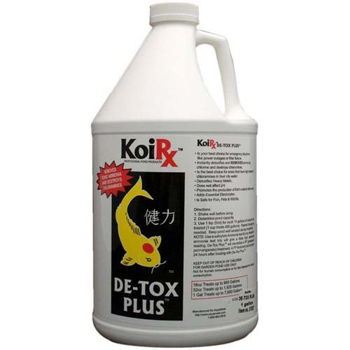 Aqua Meds De-Tox Plus Koi Water Garden Conditioner 1 gal. DTP128 78053
