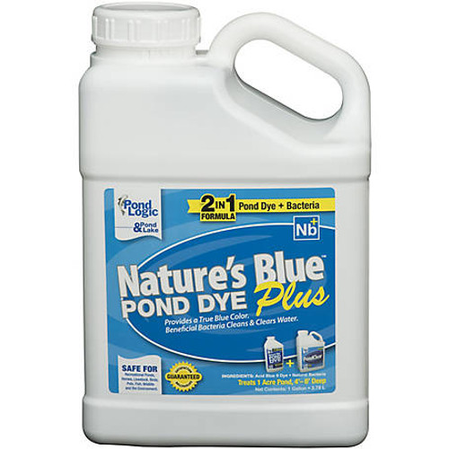 Airmax Nature's Blue Plus Pond Dye 1 gallon ARW042