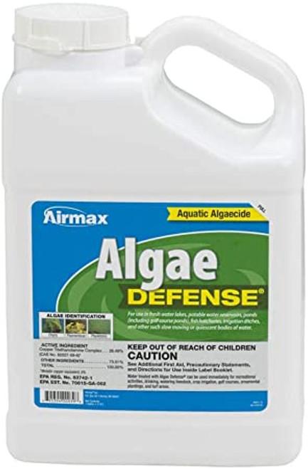 Airmax Algae Defense Pond Water Treatment Algaecide 1 gal. ARW061