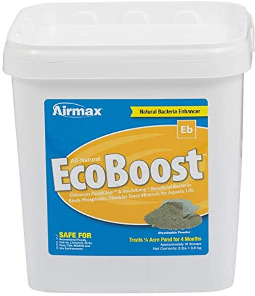Airmax EcoBoost Powder Pond Water Clarifier Natural Bacteria 8lbs. ARW038