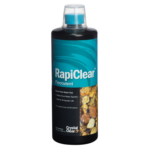 Crystal Clear RapiClear Flocculant Pond Water Treatment 32oz. ARCC031