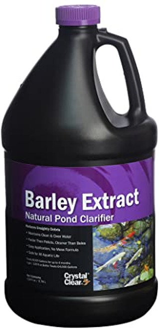 CrystalClear Barley Extract Pond Water Garden Treatment 1 gal. ARCC120