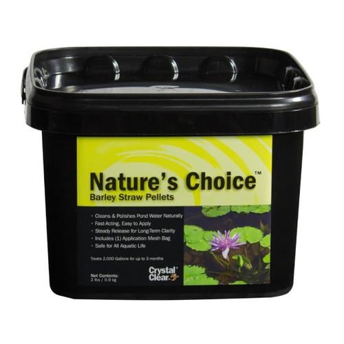 CrystalClear Nature's Choice Barley Straw Pellets 2lbs. ARCC074