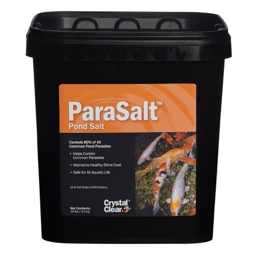 Crystal Clear ParaSalt Koi Parasite Water Garden Treatment 10lbs. CC158-10