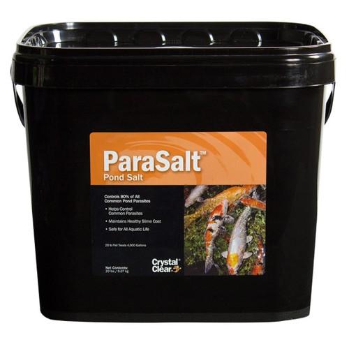 Crystal Clear ParaSalt Koi Parasite Water Garden Treatment 20lbs. CC158-20