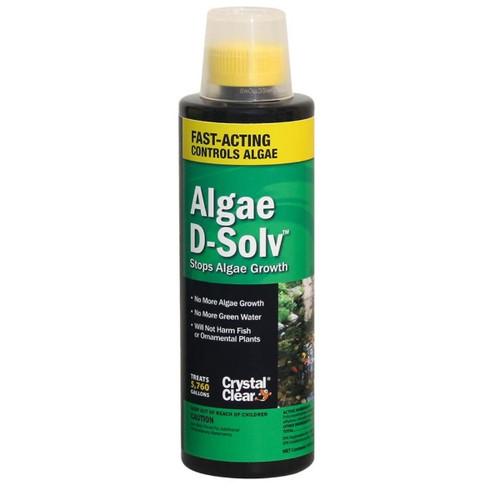 CrystalClear Algae D-Solv Algaecide Pond Treatment 16oz. CC073-16