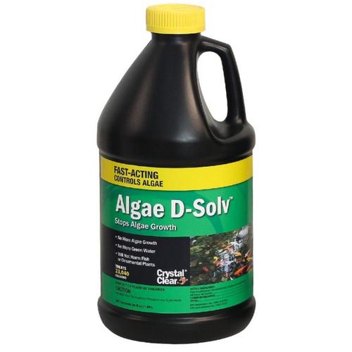CrystalClear Algae D-Solv Algaecide Pond Treatment 64oz. CC073-64