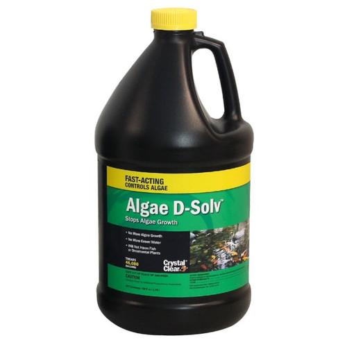 CrystalClear Algae D-Solv Algaecide Pond Treatment 1 gal. CC073-1G