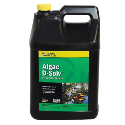 CrystalClear Algae D-Solv Algaecide Pond Treatment 2.5 gals. CC073-2G