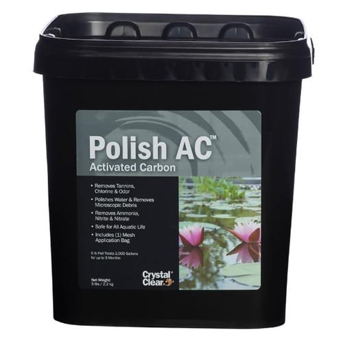 CrystalClear Polish AC Activated Carbon Water Treatment 5lbs. CC090-5