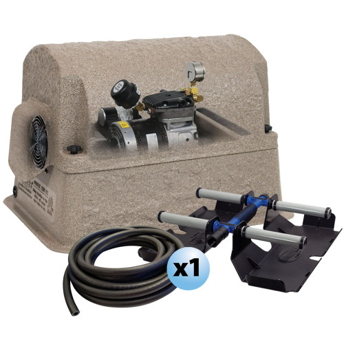 """Airmax PondSeries PS10 Pond Aerator 1 Acre 100' Roll 3/8"""" Airline 230V 600825"""