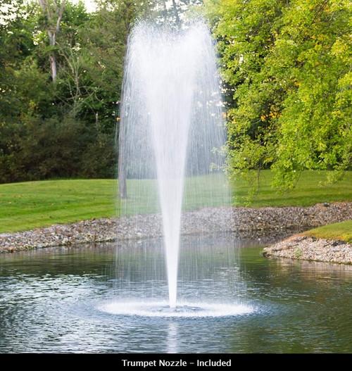 Airmax PondSeries 2 HP Fountain 230V 100' PolyFlex Cord NEMA 3R Control Panel 653050-PP
