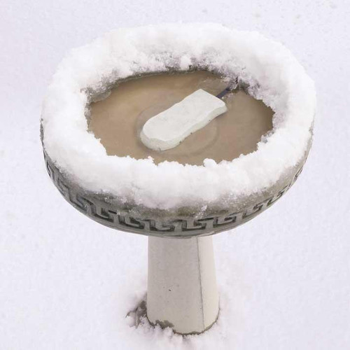 K&H Manufacturing Ice Eliminator Bird Bath De-icer KH 9000 Only Uses 50 watts