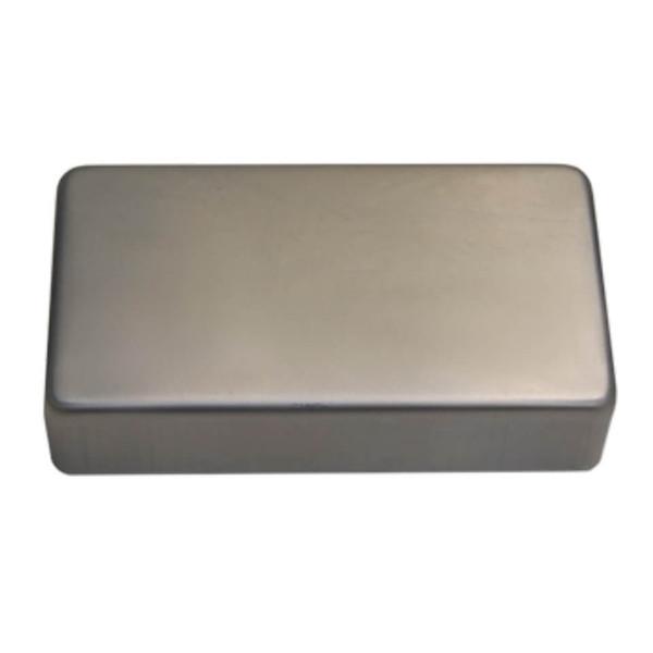 TV Jones Nickel Silver Humbucker cover with no holes