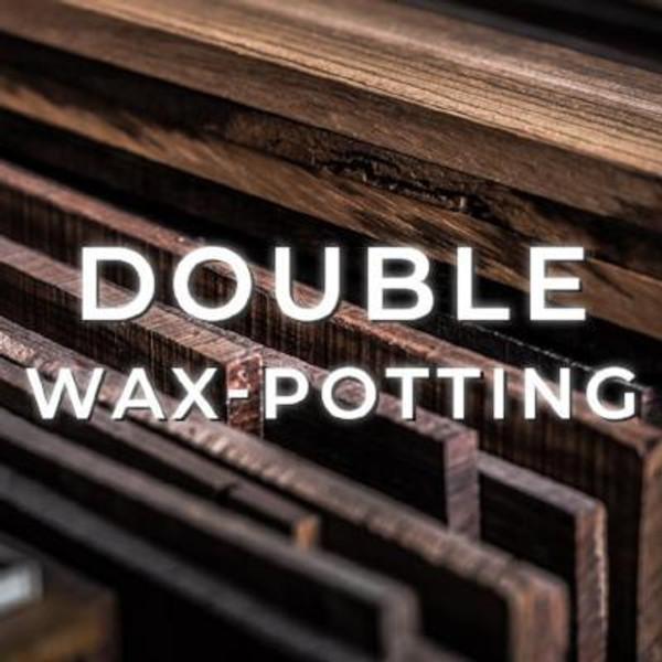 Double Wax Potting
