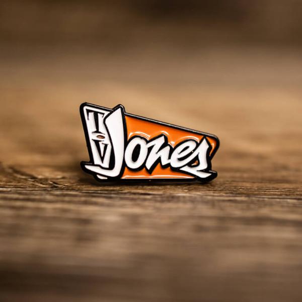 TV Jones Lapel Pin