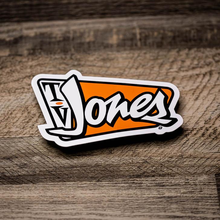 TV Jones Bumper Sticker