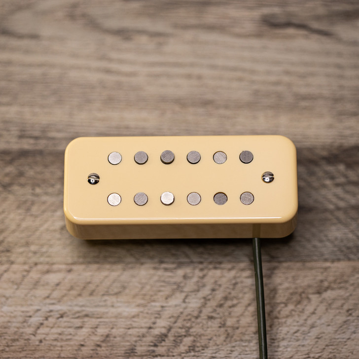 Magnatron Neck Pickup Soapbar Mount with Cream Cover