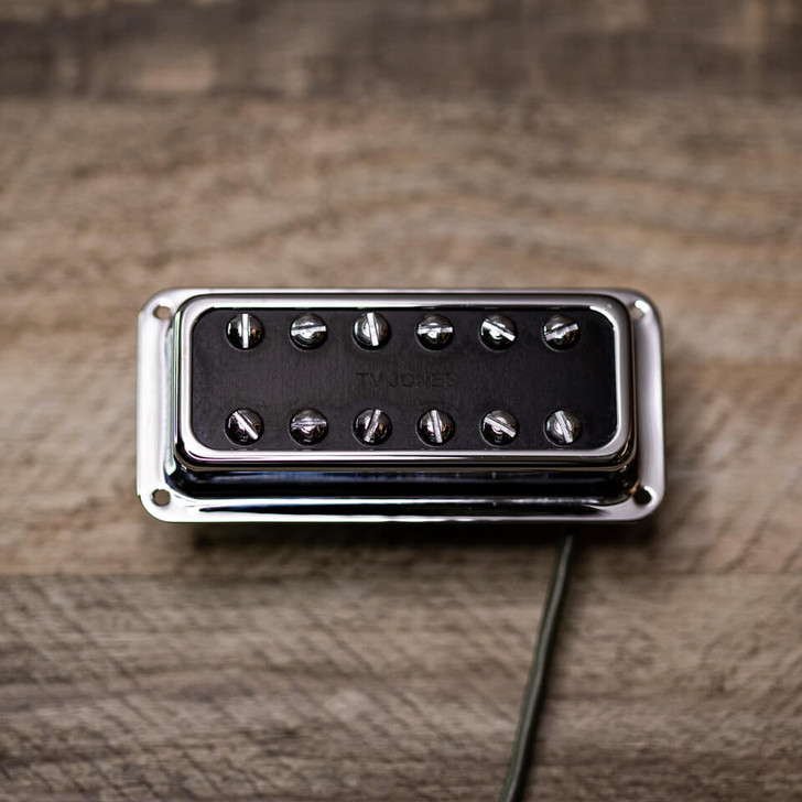Powertron Bridge Pickup DeArmond Mount Chrome