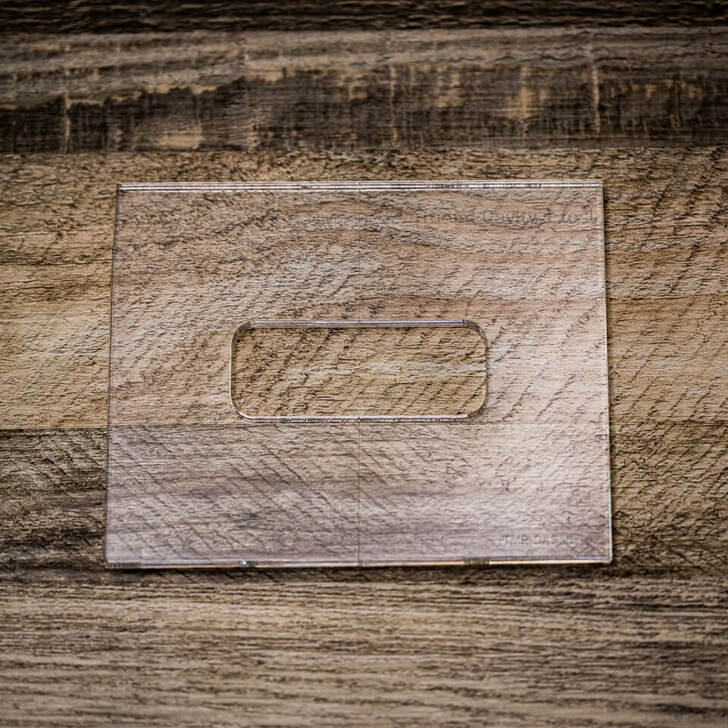 TV Jones Router Template - DeArmond Mount Small