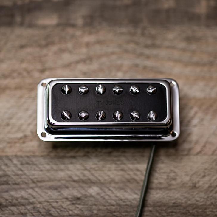 Powertron Plus Pickup Pickup DeArmond Mount Chrome