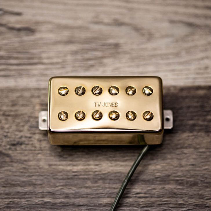 Powertron bridge pickup humbucker mount gold
