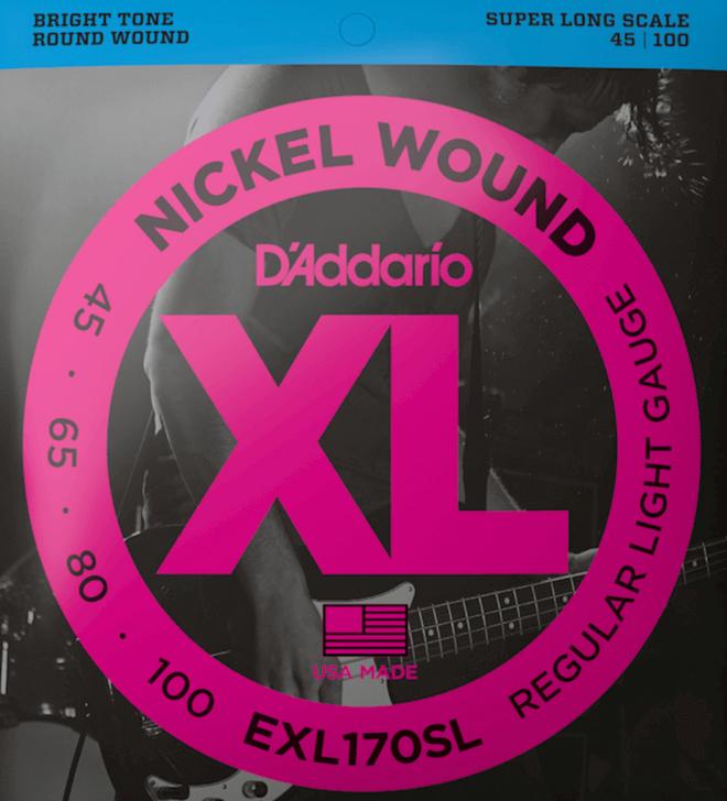 Daddario EXL Bass Strings