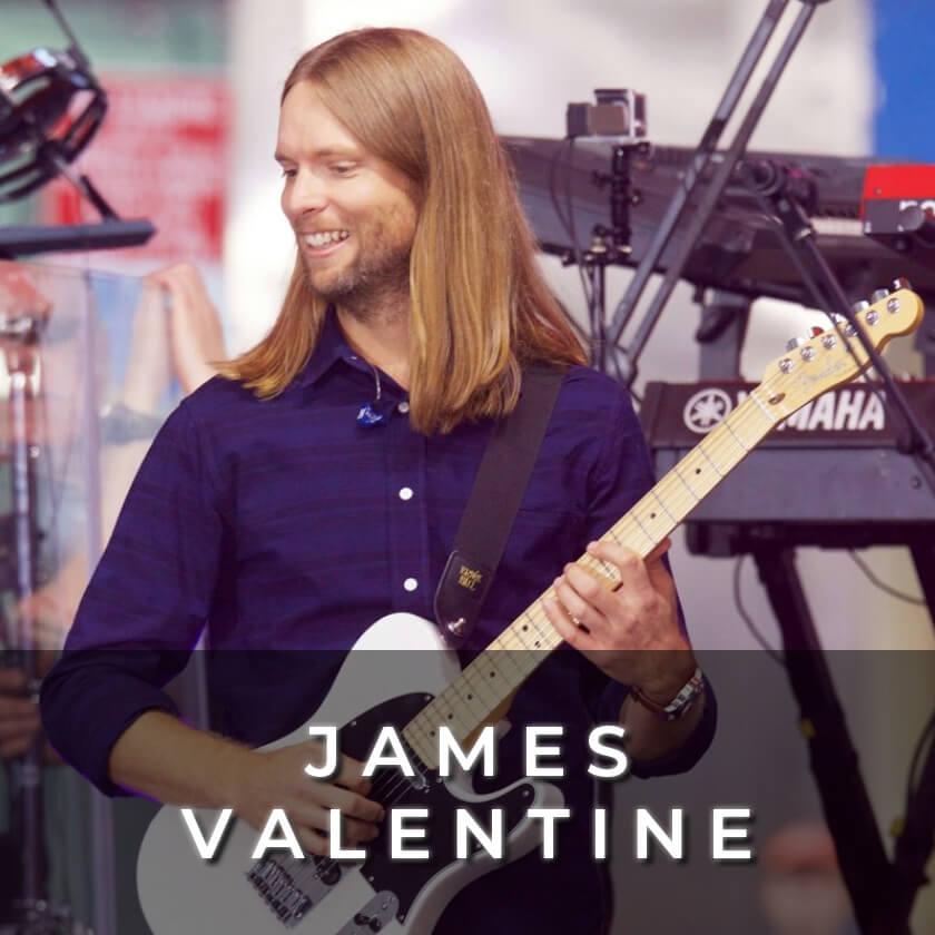 James Valentine - Maroon 5