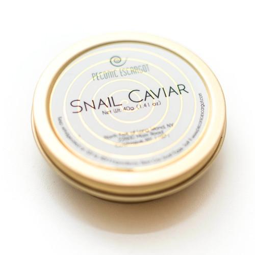White Escargot Snail Caviar