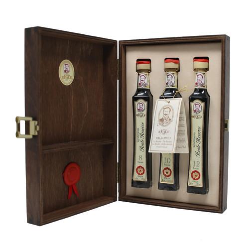 8, 10 and 12 Year Aged Balsamic Vinegar Gift box