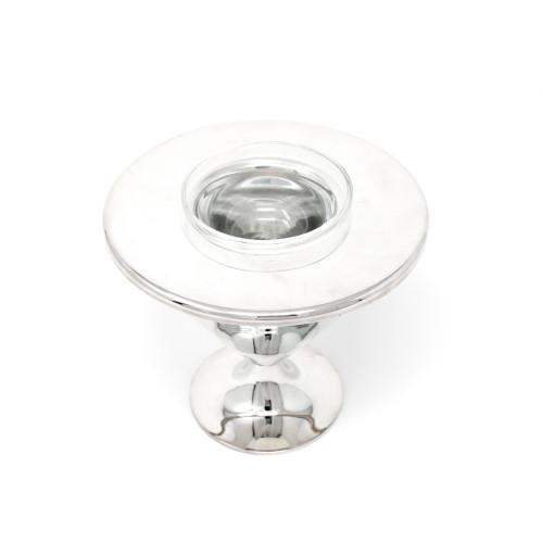 Silver Cone Caviar Server