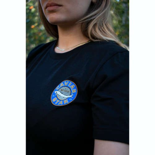 """Caviar Star """"Original Tin"""" Logo Shirt"""