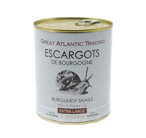 Extra Large Burgundy Escargot Snails