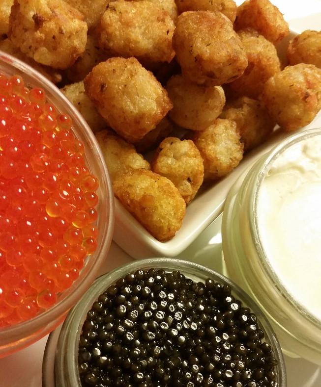 Caviar & Tater Tots
