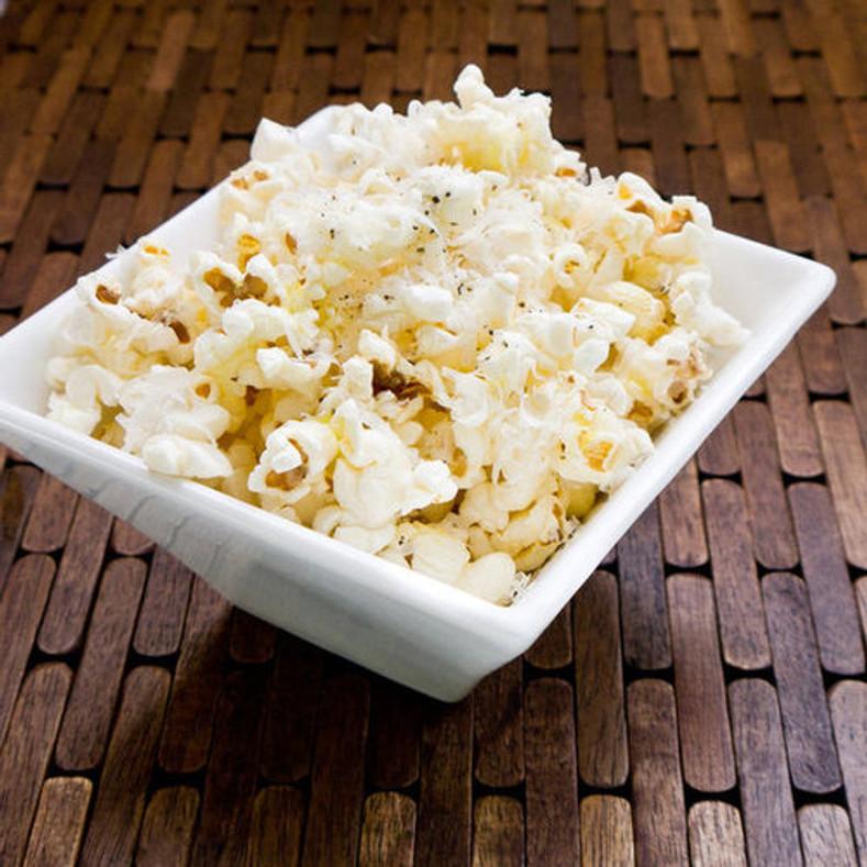 Truffle Recipes - White Truffle Popcorn
