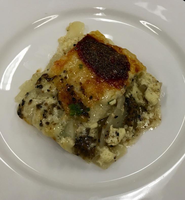 Truffle Recipes - Truffled Potato Dauphinoise