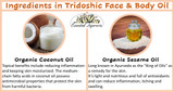 Ingredients in Tridoshic Face & Body Oil 1