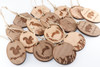 Wood Christmas Ornament: Bison