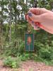 Large Cameo Pendant - Pine Tree