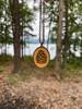 Small Cameo Pendant - Pine Cone