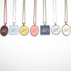 Small Cameo Pendant - Bicycle