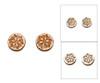 Cameo Post Earrings - Snowflake
