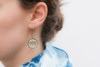 Dangle Earring - Mod Geo Starburst