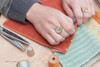 Small Cameo Ring - Sewing Machine