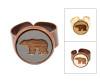Small Cameo Ring - Bear